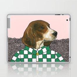 Checkered Beagle Laptop & iPad Skin