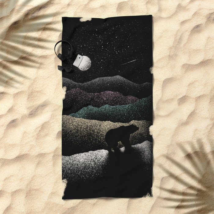Wandering Bear Beach Towel