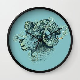 Big Horn Invocation Wall Clock