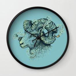 Big Horn Invocation Wall Clock