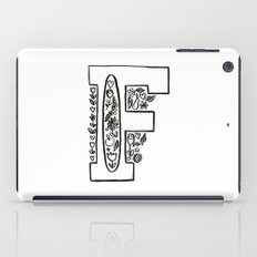 f is for iPad Case