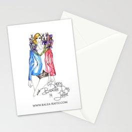 Happy Bastille Day  Stationery Cards