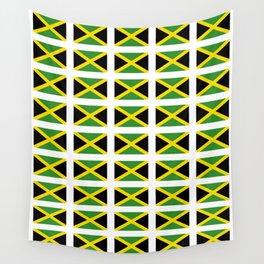 Flag of Jamaica 2-Jamaican,Bob Marley,Reggae,rastafari,cannabis,ganja,america,south america,ragga Wall Tapestry