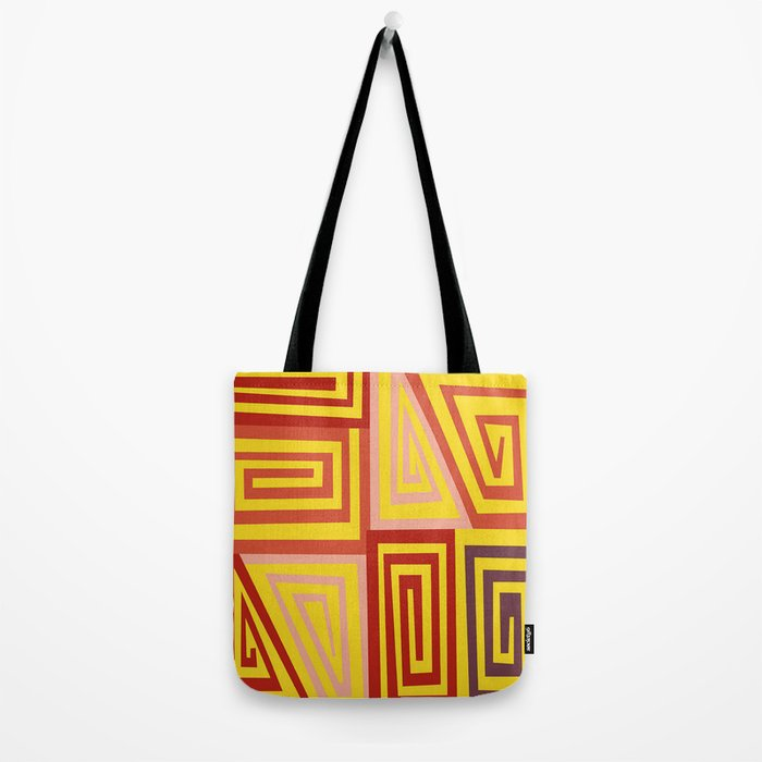 The Maze of Life Tote Bag