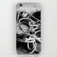 cabin pressure iPhone & iPod Skins featuring pressure by Ruthie Aviles