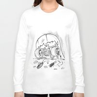 "skate Long Sleeve T-shirts featuring ""Skate"" by Jorge Daszkal"