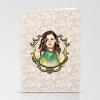 charli xcx Stationery Cards featuring Charli XCX by Share_Shop