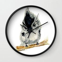 Judgy Little Bird Wall Clock