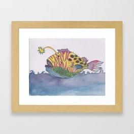 rem fish Framed Art Print