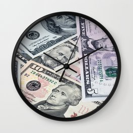 US Dollar Wall Clock