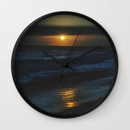 Blue Pacific Wall Clock