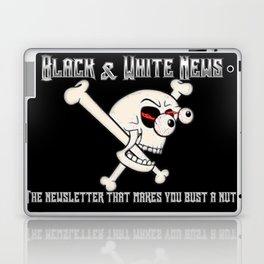 Black & White News Laptop & iPad Skin