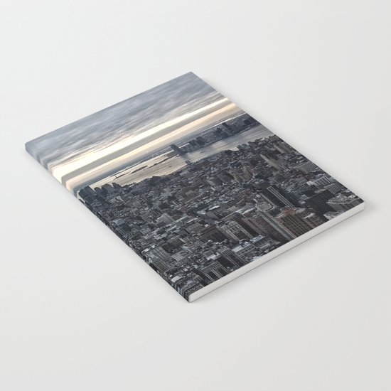 New York skyline x Notebook