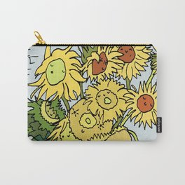 Cute Sunflowers Carry-All Pouch