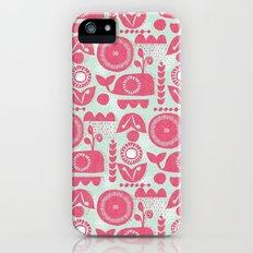 folk whale Slim Case iPhone (5, 5s)