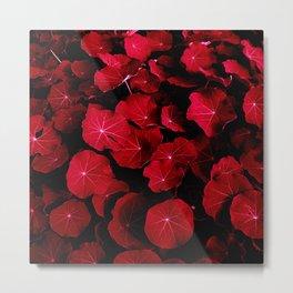 red leafs VII Metal Print
