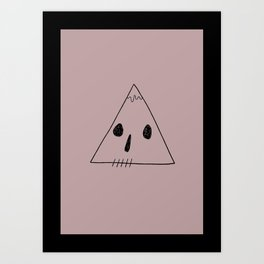 Death Mountain Art Print