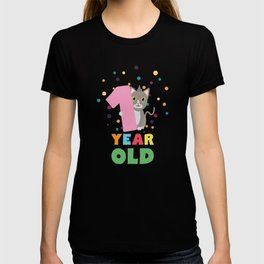 One Year old first Birthday Party T-Shirt Dx13p T-shirt