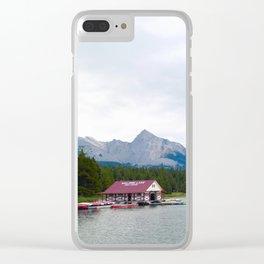 lac maligne, 2017 Clear iPhone Case