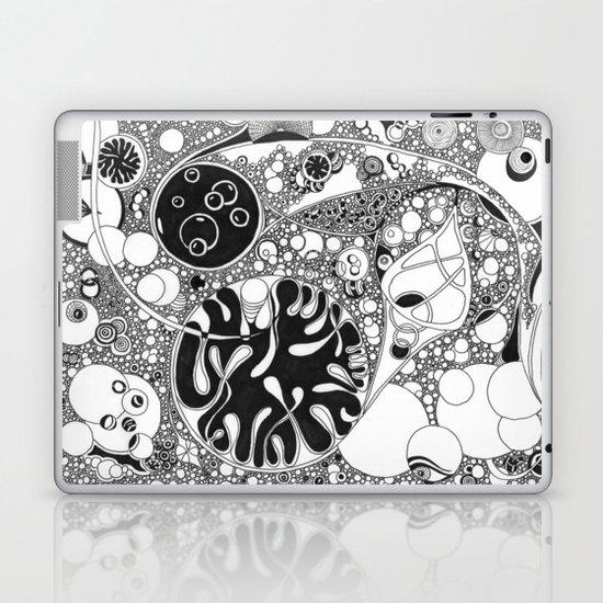 Circled circle Laptop & iPad Skin