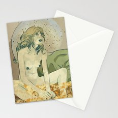 Danae as Tracey Emin Stationery Cards