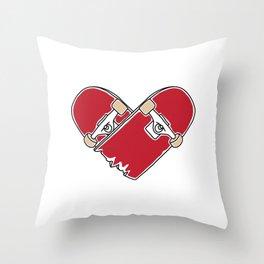 Heartboard Throw Pillow