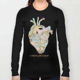 A Traveller's Heart (UK) Long Sleeve T-shirt