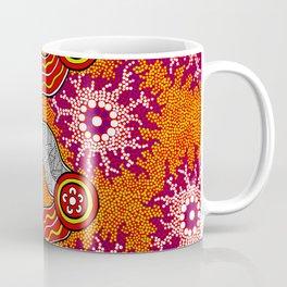 Aboriginal Art Authentic – Journey 2 Coffee Mug