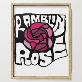 Ramblin Rose Serving Tray