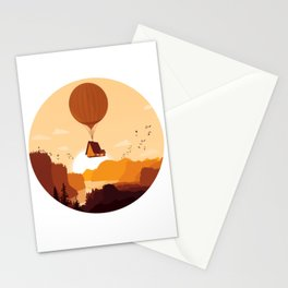 Flying House Stationery Cards