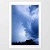 Stormyclouds Art Print