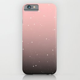 Keep On Shining - Pink Mist iPhone Case