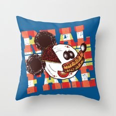 Real Fake Throw Pillow