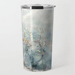 Willow in water - digital watercolor painting Travel Mug