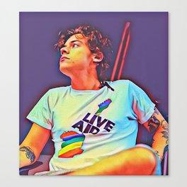 Harry Styles x Solo Canvas Print