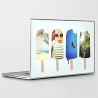 popsicle Laptop & iPad Skins featuring Popsicle by Jemma Pope