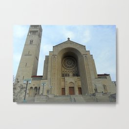 The Basilica, Washington, D.C. Metal Print