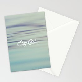 Stay Calm Stationery Cards