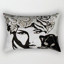 Beautiful Mind Rectangular Pillow