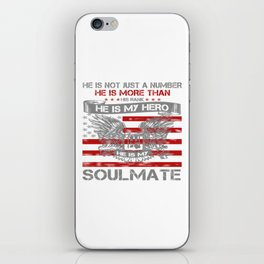 He is my Hero - Soulmate iPhone Skin