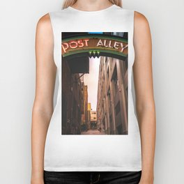 Post Alley in Seattle Washington Biker Tank