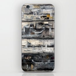 vieille valise iPhone Skin