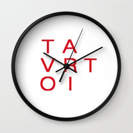 Logo Tvoriart studio Wall Clock