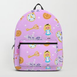 Alice in Wonderland - We're All Mad Here Backpack