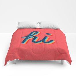Hi - pink version Comforters