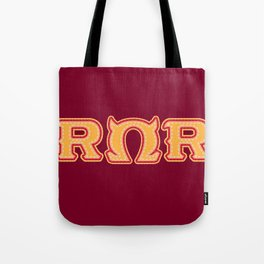 Monster University Fraternity : Roar Omega Roar Tote Bag