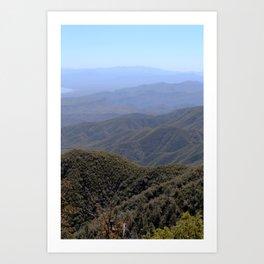 Four Peaks Art Print