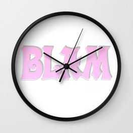 BLAM Wall Clock