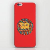 circle iPhone & iPod Skins featuring Circle by Brad Hansen
