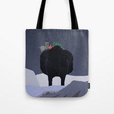 Mountain Giant Tote Bag